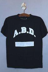 画像1: Mood NYC (ムード エヌワイシー)S/S A.B.D. Tee T-Shirts Black Reflector Reflect  (1)