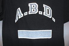 画像3: Mood NYC (ムード エヌワイシー)S/S A.B.D. Tee T-Shirts Black Reflector Reflect  (3)