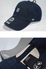 画像2: 47 Brand(フォーティーセブンブランド) Detroit Tigers Ball Cap Small Logo Navy White ネイビー ホワイト スモール ロゴ Round 6 Panel ラウンド ボール キャップ MLB メジャー リーグ ベースボール リミテッド スポーツ デトロイト タイガース 海外買い付け 限定 (2)