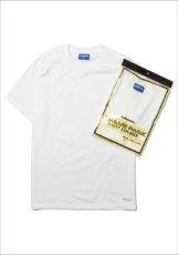 画像1: Lafayette(ラファイエット) 2-Pack Crew Neck Logo Tee White パック クルー ネック Tシャツ (1)