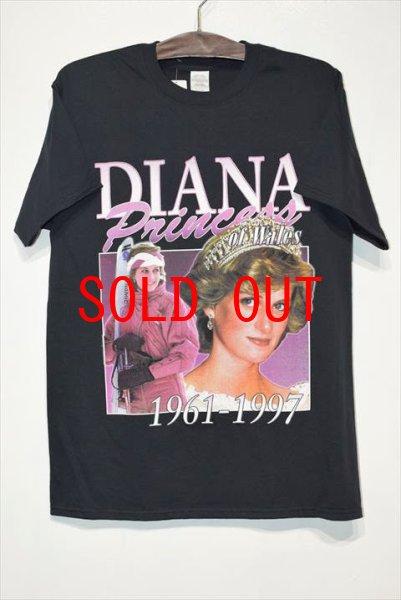画像1: Homage Tees(オマージュティーズ) S/S Diana Princess of Wales Tee ダイアナ Tシャツ (1)