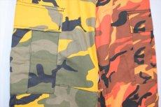 画像4: Two Tone Camo BDU Cargo Pants カーゴパンツ Yellow Orange (4)