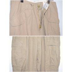 画像3: Rothco(ロスコ) Vintage M-65 Field Cargo Pants Khaki Beige カーゴパンツ (3)