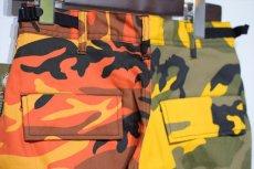 画像6: Two Tone Camo BDU Cargo Pants カーゴパンツ Yellow Orange (6)