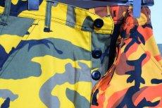 画像3: Two Tone Camo BDU Cargo Pants カーゴパンツ Yellow Orange (3)