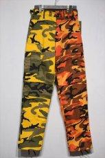 画像1: Two Tone Camo BDU Cargo Pants カーゴパンツ Yellow Orange (1)