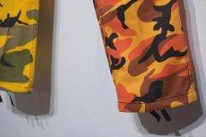 画像5: Two Tone Camo BDU Cargo Pants カーゴパンツ Yellow Orange (5)
