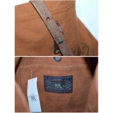 画像4: RRL(ダブルアール) Limited Edition Medium Canvas Shoulder Bag Brown Deadstock デッドストック ショルダーバッグ (4)