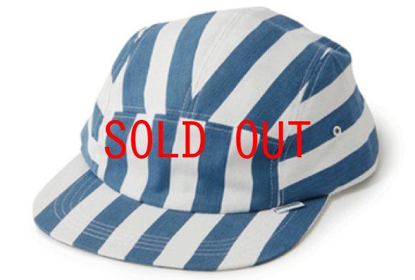 画像1: Interbreed(インターブリード) Patterned 5Panel Cap Stripe キャンプ ジェット キャップ 帽子 (1)