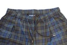 画像3: Interbreed(インターブリード) Patterned Pajama Pants Black Watch パジャマ スリープ イージー パンツ (3)