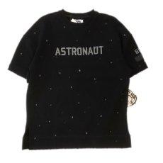 画像1: Billionaire Boys Club (ビリオネアボーイズクラブ) Astronaut S/S Sweat Shirts BB Mission Knit Black 半袖 スウェット シャツ (1)