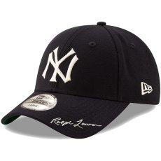 画像1: Polo Ralph Lauren(ポロ ラルフ ローレン) × New Era(ニューエラ) ×  New York Yankees(ニューヨークヤンキース) Navy 49FORTY Fitted Cap キャップ 帽子 collaboration コラボ (1)
