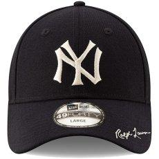 画像3: Polo Ralph Lauren(ポロ ラルフ ローレン) × New Era(ニューエラ) ×  New York Yankees(ニューヨークヤンキース) Navy 49FORTY Fitted Cap キャップ 帽子 collaboration コラボ (3)
