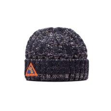 画像1: Acapulco Gold (アカプルコゴールド)AG Conditions Cable Knit Cap Hat Mix Navy ケーブル ニット キャップ acg 帽子 (1)
