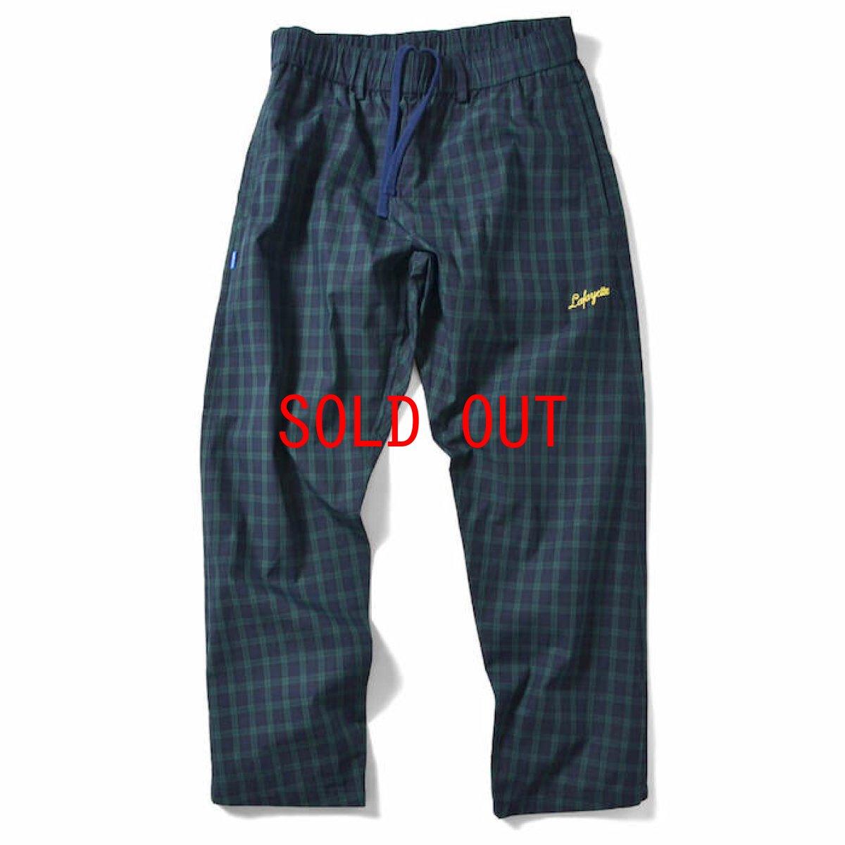 画像1: Lafayette(ラファイエット) Tartan Check Pajama Pants Green set up チェック Black Watch (1)