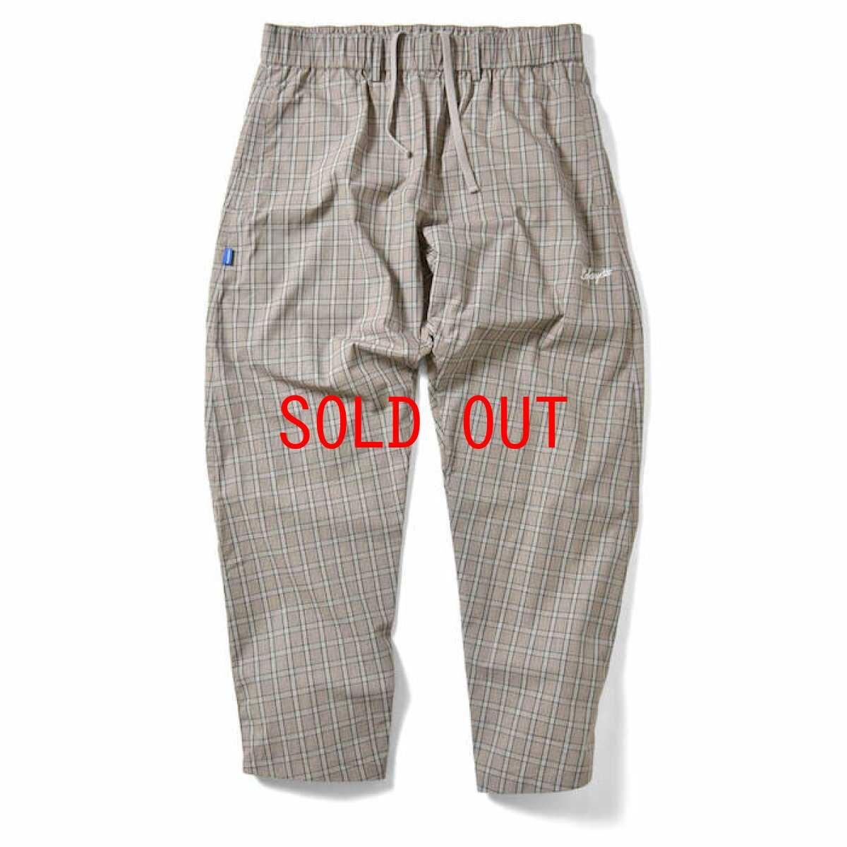 画像1: Lafayette(ラファイエット) Tartan Check Pajama Pants Grey チェック パンツ Easy Pants (1)