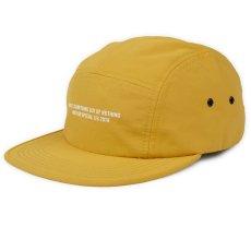 画像1: Nothin' Special(ナッシン スペシャル) Out Of Nothing 5-Panel Nylon Camp Cap Yellow ナイロン キャンプ キャップ ジェット Made In USA  (1)