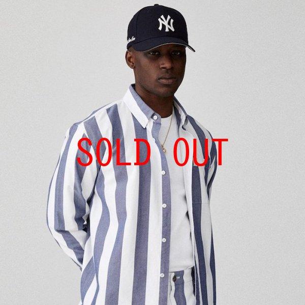 画像1: Aime Leon dore(エイメ レオン ドレ) × New Era (ニューエラ) LP 59Fifty Cap NewYork Yankees  Navy White ニューヨーク ヤンキース Kith ネイビー ホワイト (1)