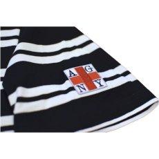 画像3: Acapulco Gold (アカプルコゴールド)AGNY Border Pocket S/S Tee Navy Red Black White Tシャツ ボーダー ポケット ポケT (3)