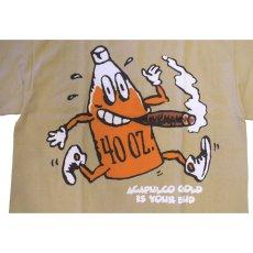 画像2: Acapulco Gold (アカプルコゴールド)Bud S/S Tee Khaki カーキ Tシャツ 40oz. ビール ゲットー・ビール (2)