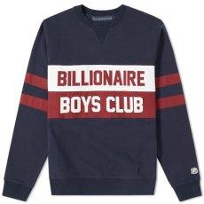 画像1: Billionaire Boys Club (ビリオネアボーイズクラブ)Varsity Cut & Saw Crewneck Sweat Collage クルーネック スウェット (1)