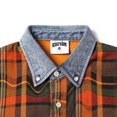 画像4: Strawberry S/S Shirts Denim Check シャツ デニム チェック (4)