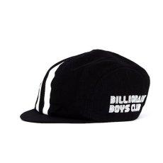 画像1: Billionaire Boys Club (ビリオネアボーイズクラブ) C Black White Logo バイク メッセンジャー キャップ (1)