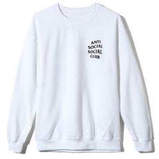 画像2: Anti Social Social Club(アンチ ソーシャル ソーシャル クラブ)KKOCH Crew Neck Sweat White Logo ロゴ クルーネック スウェット (2)