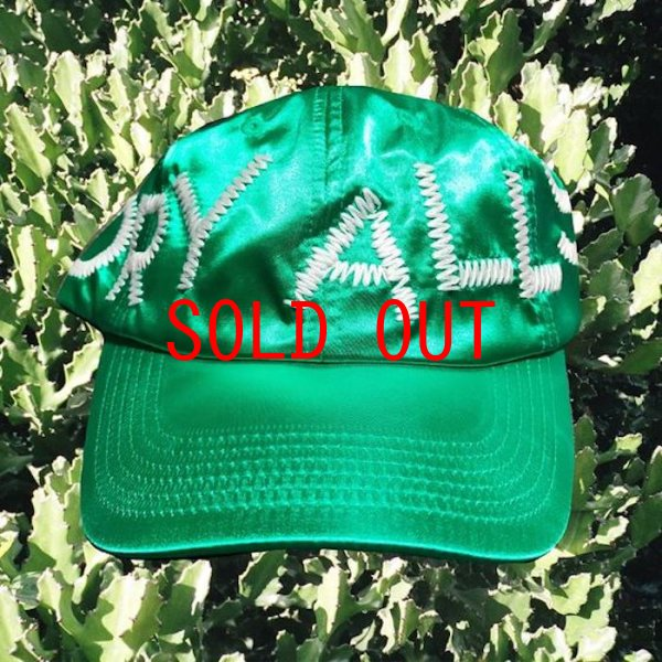 画像1: Cactus Plant Flea Market(カクタスプラントフリーマーケット)×Human Made(ヒューマンメイド) cpfm Dry Alls Ball Cap Hat Green サテン ボール キャップ ハット 帽子 (1)
