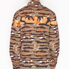 画像4: Billionaire Boys Club (ビリオネアボーイズクラブ)L/S BB Hidden Shirts Tiger Camo Orange Multi 切替 タイガー カモ (4)