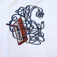 画像5: C Tape S/S Tee White ホワイト cassette カセット テープ (5)