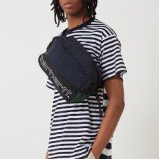 画像6: Carhartt WIP(カーハート ワークインプログレス) Terrce Hip Bag Green Dark Navy Black Bottle Bag Colorblock カラーブロック 切替 ウエスト ショルダー ヒップ バッグ (6)