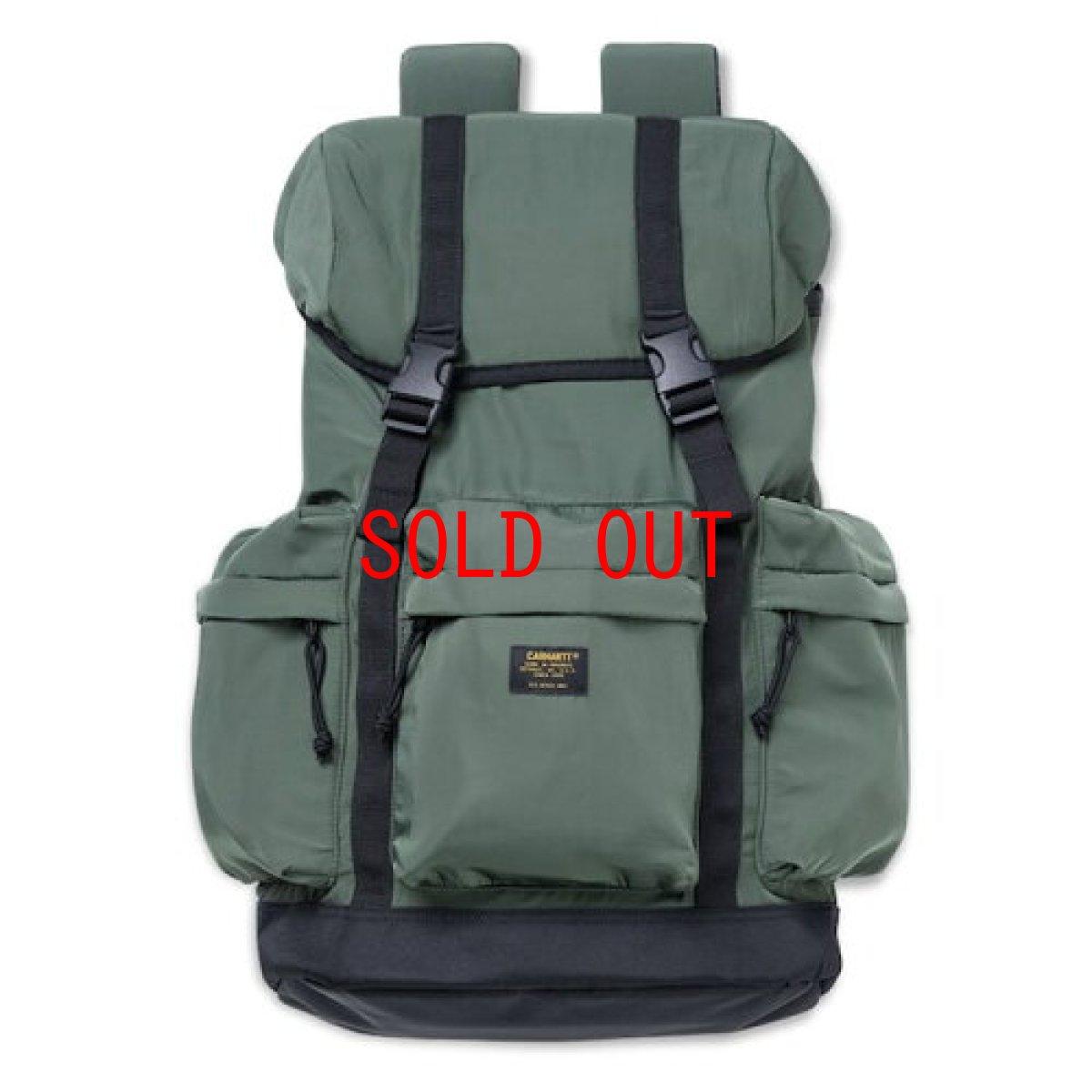 画像1: Carhartt WIP(カーハート ワークインプログレス) Military Rucksack Bag Pack Adventure Olive ミリタリー バッグパック (1)