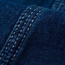 画像6: Bib Overall Blue Rinsed Indigo Denim ビブ オーバーオール  (6)