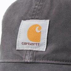 画像5: Carhartt (カーハート) Logo mesh Cap Wash Black ロゴ メッシュ キャップ (5)