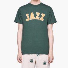 画像1: Butter Goods(バターグッズ)Jazz Logo S/S Tee Green グリーン Tシャツ (1)