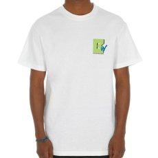 画像6: TV S/S Tee White ホワイト Tシャツ ロゴ Tシャツ 白 (6)