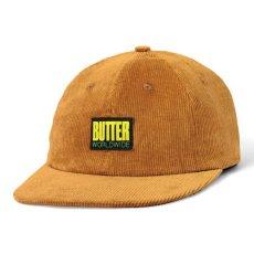 画像1: Butter Goods(バターグッズ)Thomas Corduroy 6 Panel Cap Brown コーデュロイ キャップ  (1)