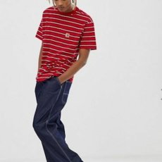 画像4: Carhartt WIP(カーハート ワークインプログレス) Houston Pocket S/S Tee T-Shirt Red  半袖 Tシャツ (4)