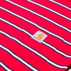 画像3: Carhartt WIP(カーハート ワークインプログレス) Houston Pocket S/S Tee T-Shirt Red  半袖 Tシャツ (3)