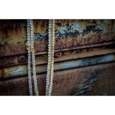 画像2: Golden Gilt(ゴールデン・ギルト) Tennis Chain Silver Necklace ネックレス シルバー 46cm 52cm 57cm テニス チェーン (2)