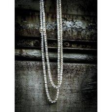 画像3: Golden Gilt(ゴールデン・ギルト) Tennis Chain Silver Necklace ネックレス シルバー 46cm 52cm 57cm テニス チェーン (3)