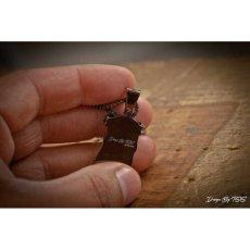 画像3: Golden Gilt(ゴールデン・ギルト) Mini Jesus Chain Gun Black Necklace ネックレス ブラック 64cm jewelry ジーザス チェーン (3)