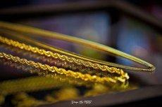 画像3: Golden Gilt(ゴールデン・ギルト) Herringbone Snake Gold Necklace ネックレス ゴールド 66cm jewelry ヘリンボーン スネーク チェーン  (3)