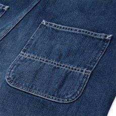 画像5: Bib Overall Straight Blue dark stone washed indigo デニム インディゴ ウィメンズ (5)
