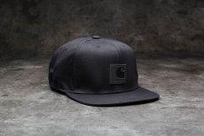 画像1: Logo Snapback Cap Black Hamilton Brown ロゴ スナップバック キャップ 帽子 (1)