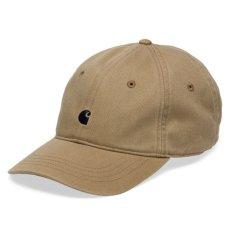 画像4: Carhartt WIP(カーハート ワークインプログレス) Madison Logo Cap Black Green White Beige ロゴ パネル キャップ 帽子 (4)