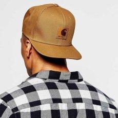 画像8: Logo Snapback Cap Black Hamilton Brown ロゴ スナップバック キャップ 帽子 (8)