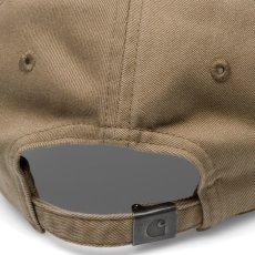 画像6: Carhartt WIP(カーハート ワークインプログレス) Madison Logo Cap Black Green White Beige ロゴ パネル キャップ 帽子 (6)