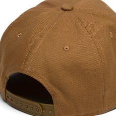 画像7: Logo Snapback Cap Black Hamilton Brown ロゴ スナップバック キャップ 帽子 (7)